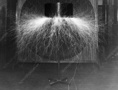 Tesla wireless coil experiment