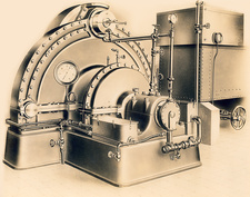 Tesla turbo pump, 1910s