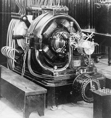 Generator at Tesla's Wardenclyffe Tower, 1900s