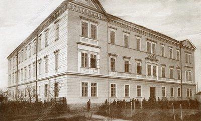 Nikola Tesla's secondary school, 1870s