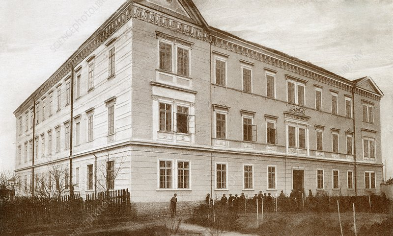 Nikola Tesla's secondary school, 1870s