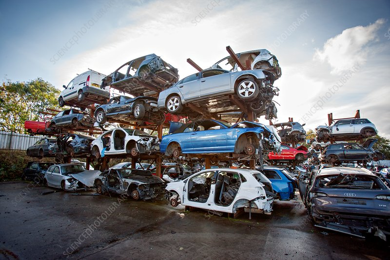 Scrapyard, UK
