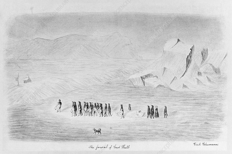 Polaris Arctic expedition, illustration