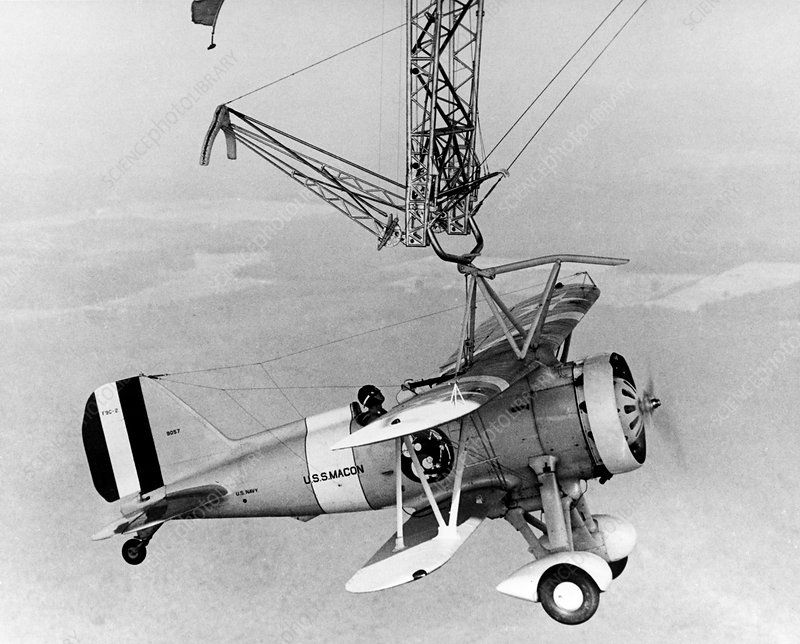 Curtiss F9C-2 'Sparrowhawk' fighter plane
