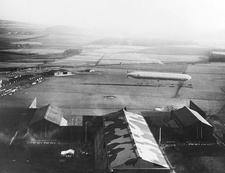 Early 20th Century British airship station