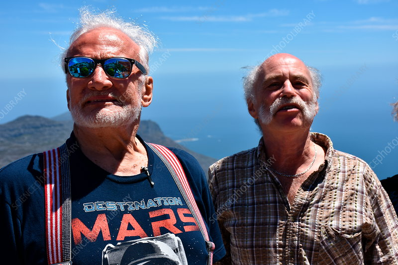 Buzz Aldrin and Nigel Henbest, South Africa
