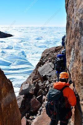 Buzz Aldrin in Antarctica