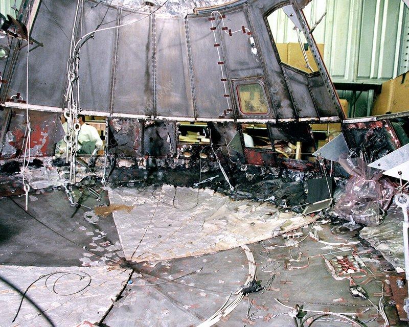 Apollo 1 wreckage