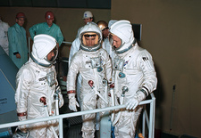 Apollo 1 astronauts training