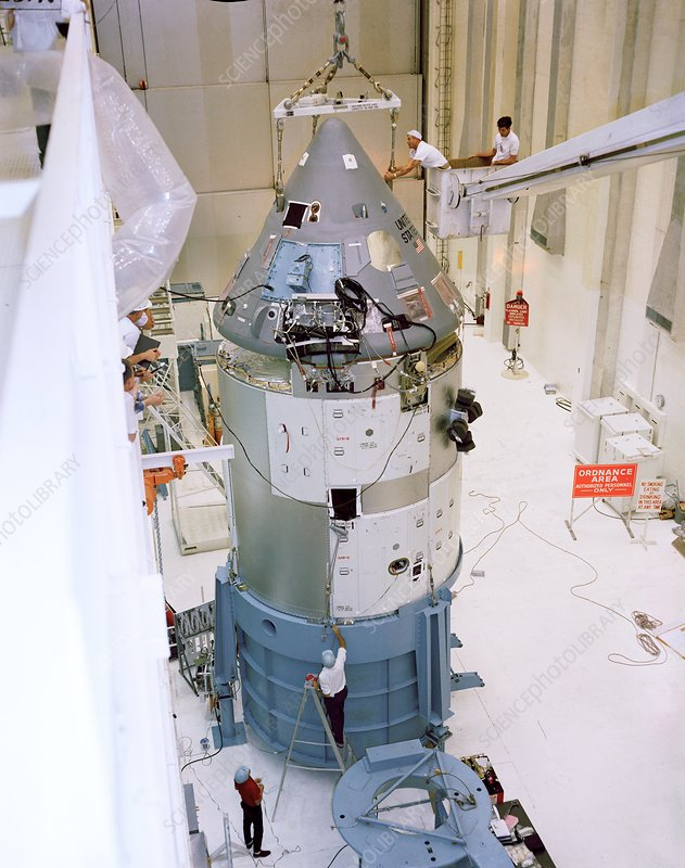 Apollo 1 spacecraft preparation