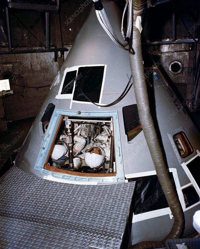 Apollo 1 astronauts training