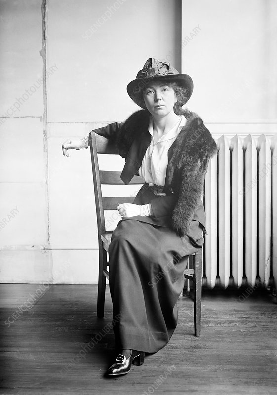 Christabel Pankhurst, British suffragette leader