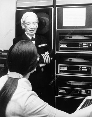 Grace Hopper, US computer scientist