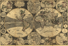Map of the world, 1702