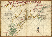 Virginia, New Netherland and New England, 17th century