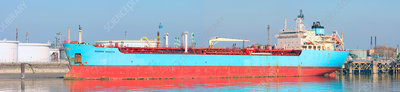 Oil and chemical tanker