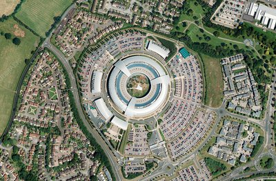 GCHQ headquaters, Cheltenham, UK