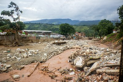 Landslide aftermath, Mocoa, Colombia, 2017