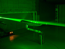 Laser design of Blended Wing Body aircraft