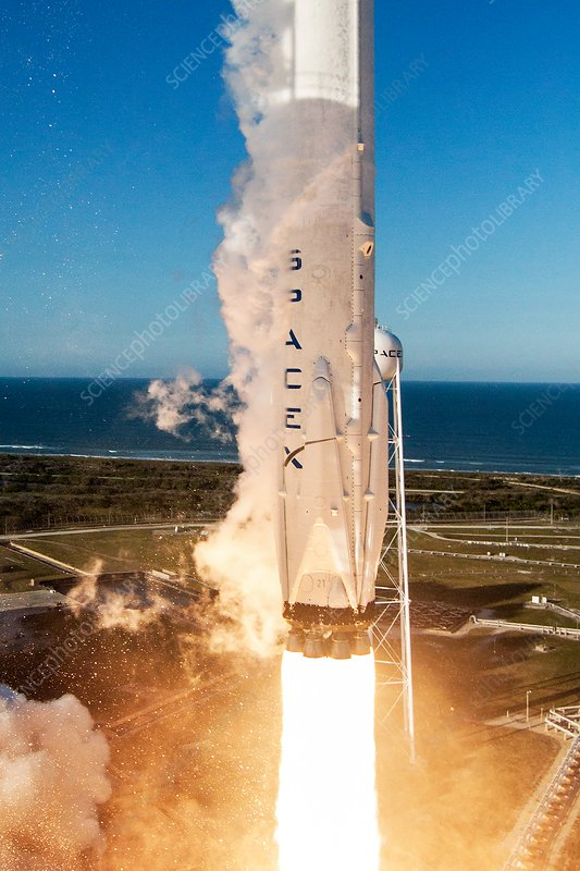 First SpaceX rocket reuse, March 2017