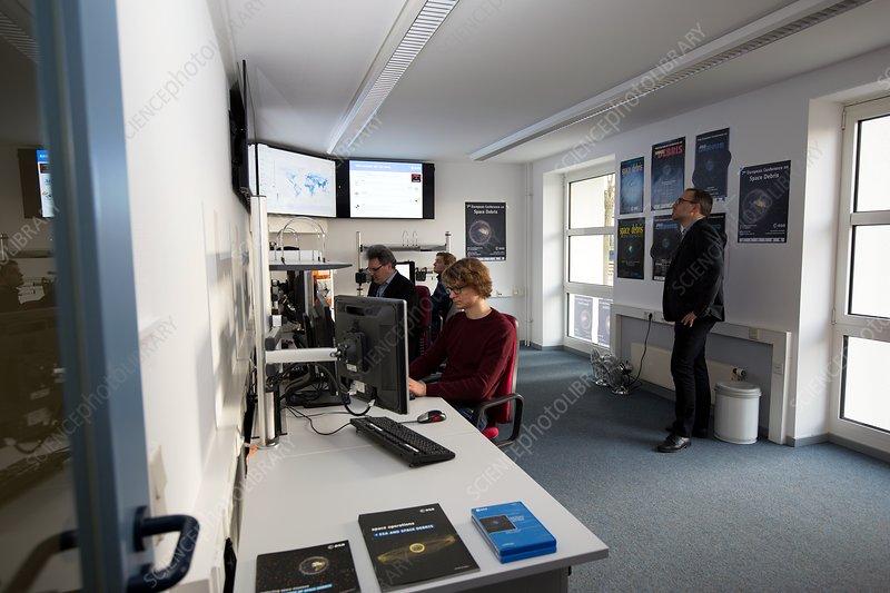 ESA Space Debris Facility