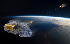 e.Deorbit space debris removal mission, illustration
