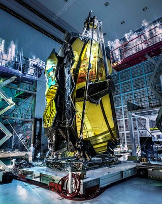 James Webb Space Telescope inspection