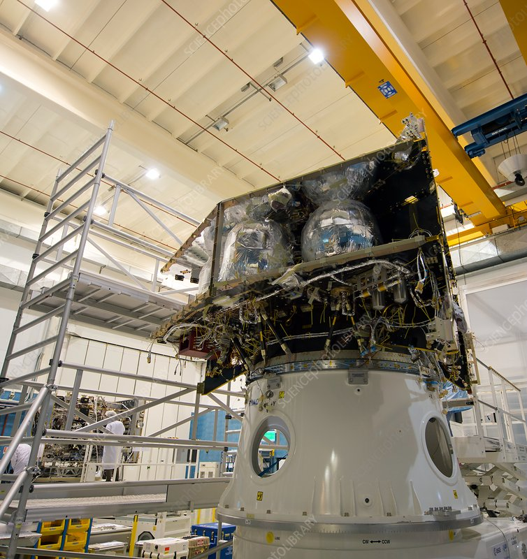 BepiColombo spacecraft integration