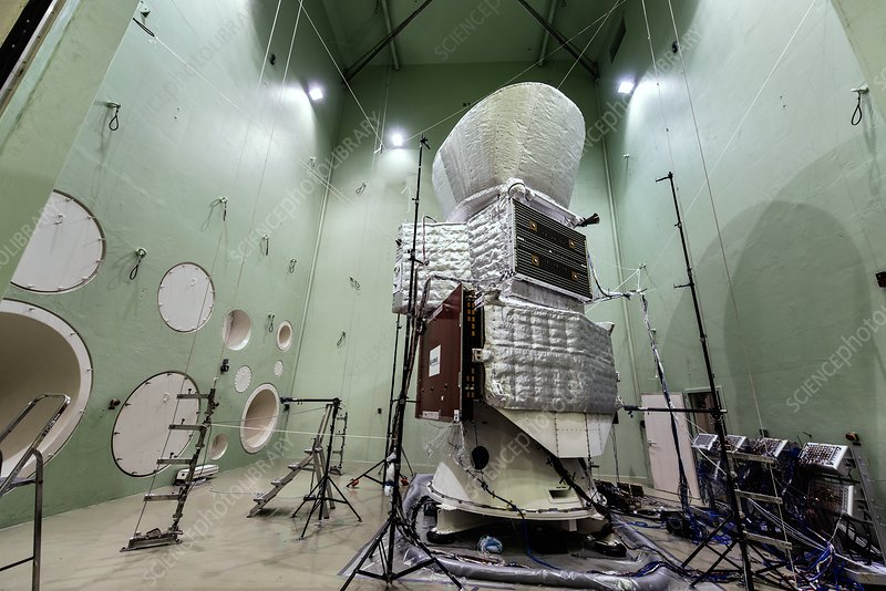 BepiColombo spacecraft acoustic test