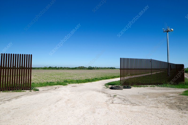 US-Mexico border fence, Texas