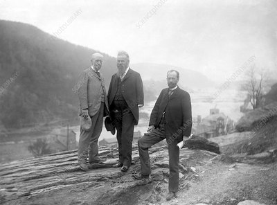Geikie, Powell and Walcott, geologists, 1897