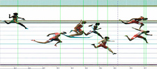 Photo finish, 2013 IAAF World Championships, Moscow