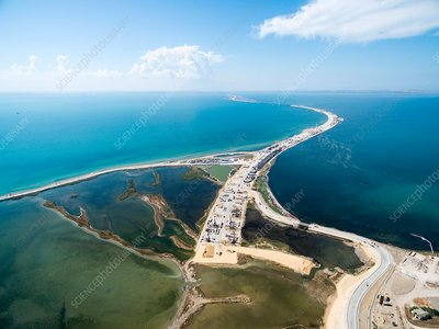 Russia-Crimea highway construction, 2016