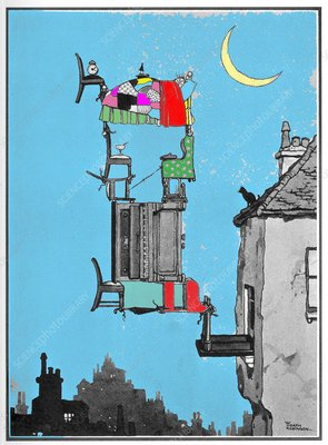 Stuffy night by W. Heath Robinson