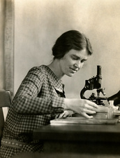 Margaret Mann Lesley, US geneticist and cytologist