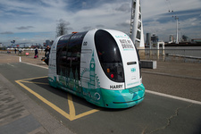 Prototype zero emission driverless shuttle