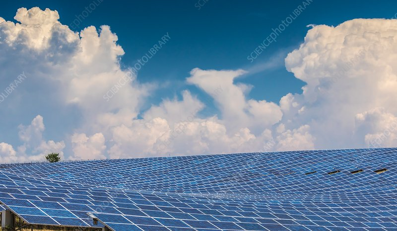 Photovoltaic power plant.