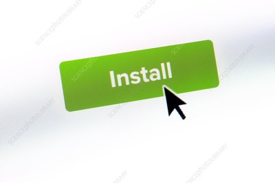 Install button