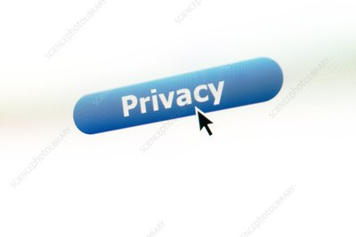Online privacy, conceptual image