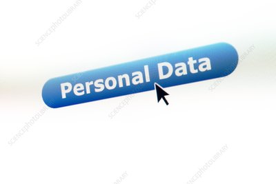 Data protection, conceptual image