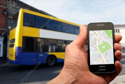 Smartphone and bus