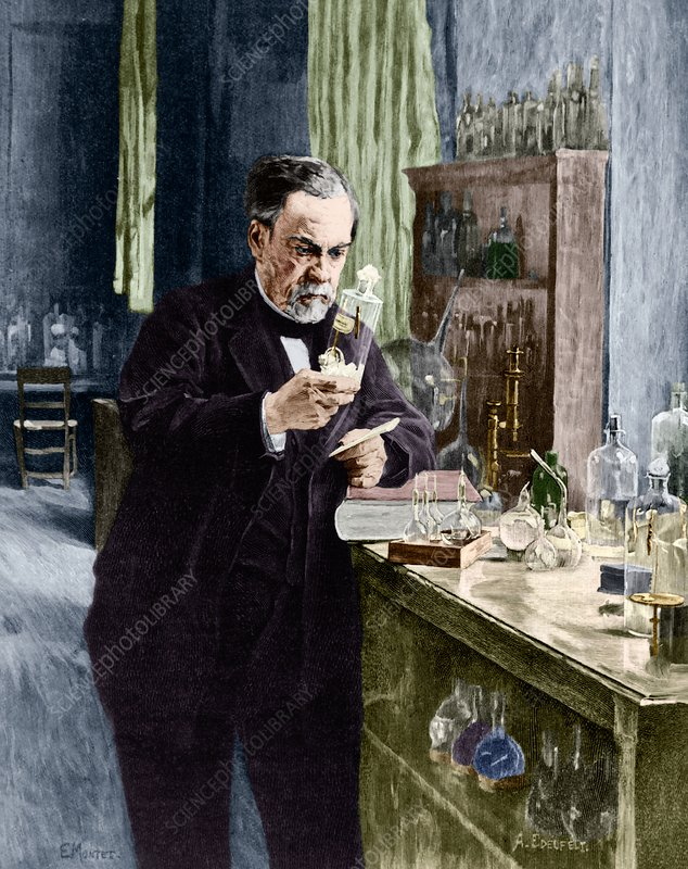 Louis Pasteur French Microbiologist Stock Image C0372921