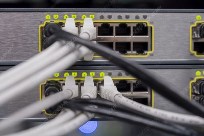 Ethernet ports and cables