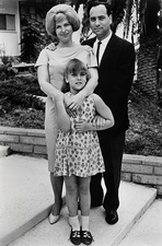 Theodore H. Maiman with his wife Shirley and daughter Sheri