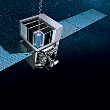 Fermi Gamma-ray Space Telescope, illustration