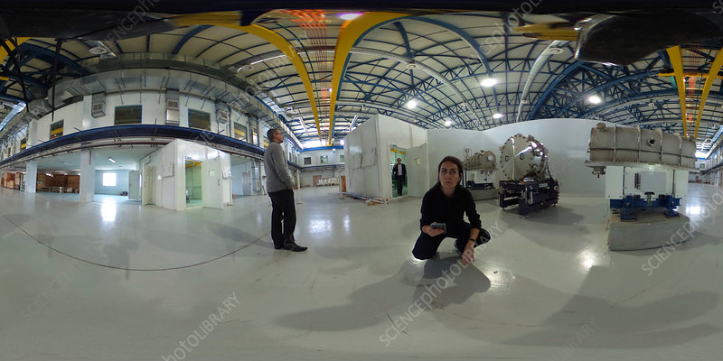SESAME main hall, 360 degree image