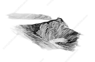 Stair Hole, Dorset, illustration