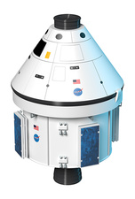 Apollo Command and Service Module, illustration