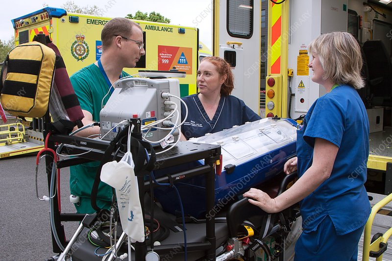 Paediatric ambulance