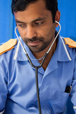 Stethoscope use